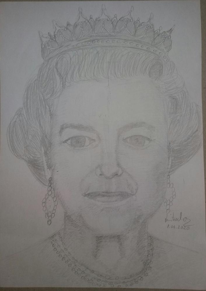 Elizabeth II by laura-grigorita